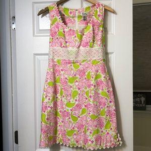 Lily Pulitzer Blackjack Cat Print Shift Dress
